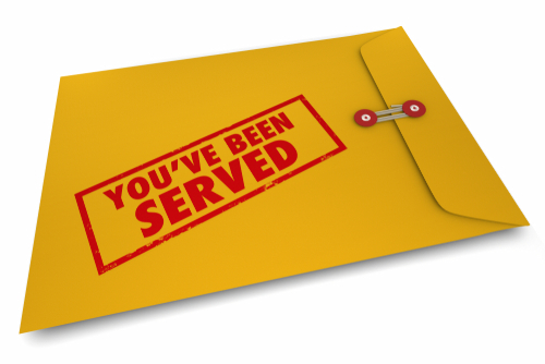 you have been served by Ottawa Process Servers